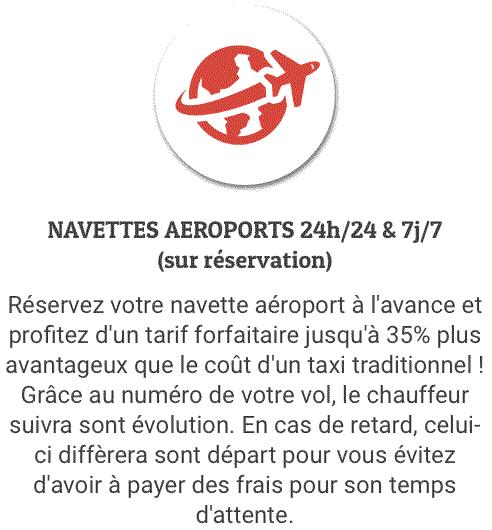 Navette aéroport à Nil-Saint-Vincent